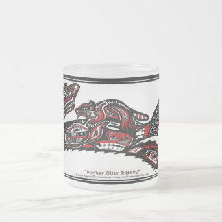 """HAIDA SPIRIT MUG"" Native American-style Otter Art"