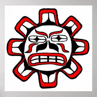 Haida Sun Poster