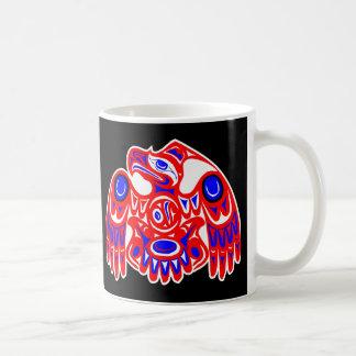 Haida Thunderbird Black Coffee Mug