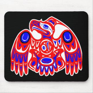 Haida Thunderbird Black Mouse Pad