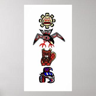 Haida Totem 2 Poster