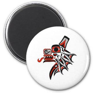 Haida Wolf 2012 2 Inch Round Magnet
