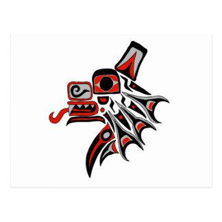Haida Wolf 2012 Postcard