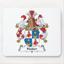 Haider Family Crest Mousepad