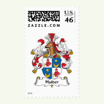 Haider Family Crest Stamps