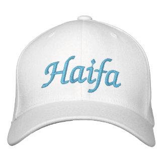 Haifa Israel Embroidered Hats