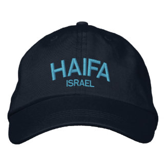 Haifa Israel Personalized Adjustable Hat