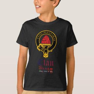 Haig scottish crest and tartan clan name T-Shirt