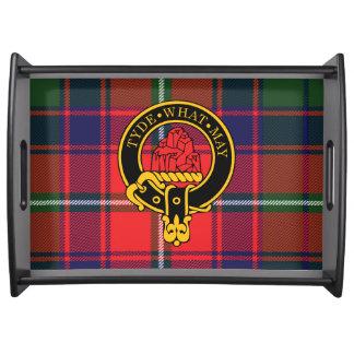 Haig Scottish Crest and Tartan Serving Tray