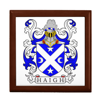 Haigh Coat of Arms Jewelry Box