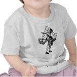 Haigha (Mad Hatter) Inked Black T Shirts
