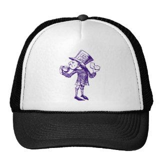 Haigha (Mad Hatter) Inked Purple Trucker Hat