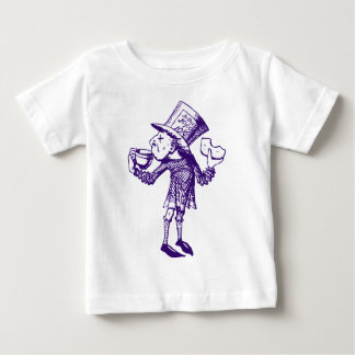 Haigha (Mad Hatter) Inked Purple Baby T-Shirt