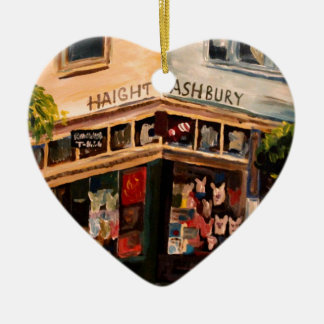 Haight Ashbury in San Francisco Ceramic Ornament