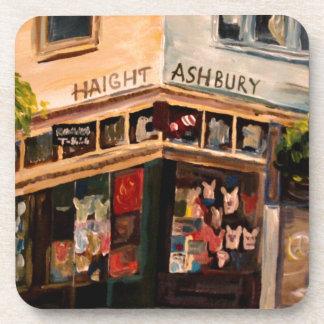 Haight Ashbury in San Francisco Beverage Coaster