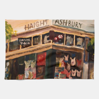 Haight Ashbury in San Francisco Kitchen Towels