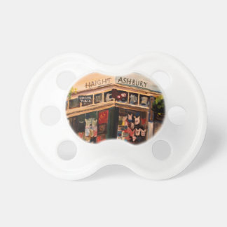 Haight Ashbury in San Francisco BooginHead Pacifier
