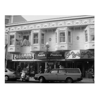 Haight ashbury in San Francisco Postcard