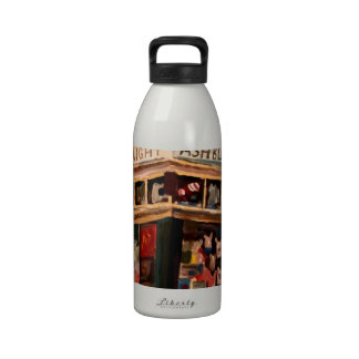Haight Ashbury in San Francisco Reusable Water Bottles