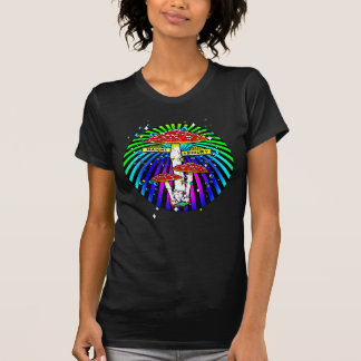 Haight Ashbury Mushroom Sign T-Shirt