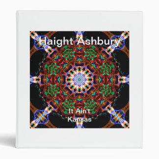 Haight Ashbury Psychedelic  Hippie Fashion Art Binders