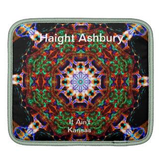Haight Ashbury Psychedelic  Hippie Fashion Art iPad Sleeve