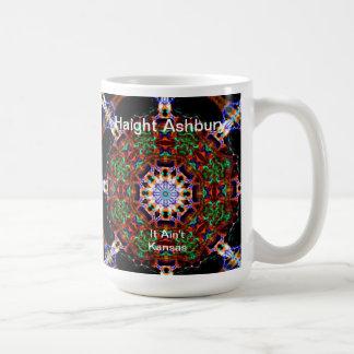 Haight Ashbury Psychedelic  Hippie Fashion Art Mug