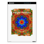 Haight Ashbury Psychedelic  Hippie Fashion Art Decal For iPad 2