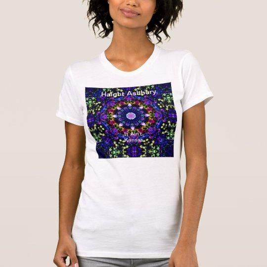 Haight Ashbury Psychedelic  Hippie Fashion Art T-Shirt