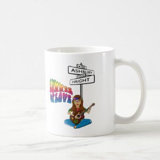 Haight Ashbury Summer of Love Coffee Mugs