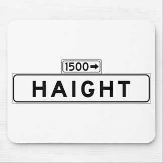 Haight St., San Francisco Street Sign Mouse Pad