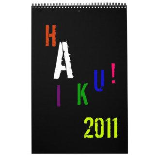 HAIKU! 2011 WALL CALENDAR