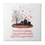Haiku 2012 de la genealogía azulejos