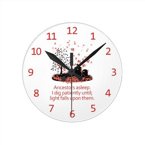 Haiku 2012 de la genealogía relojes