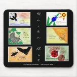 Haiku Art - Insect Series Mousepad
