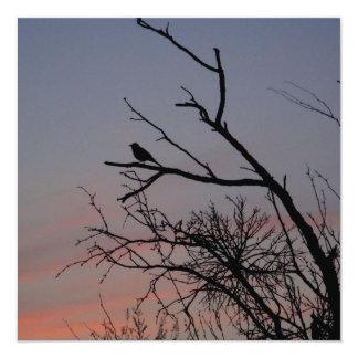 Haiku Bird Card