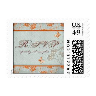 Haiku Bride RSVP Stamp