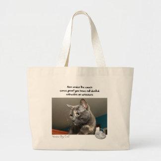Haiku by Cat™: Dust Large Tote Bag