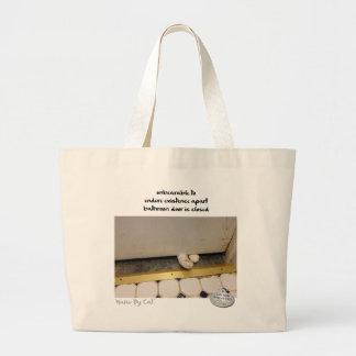 Haiku by Cat™: Unbearable Large Tote Bag