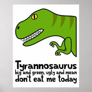 Haiku de T-Rex Impresiones