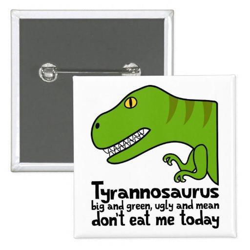 Haiku de T-Rex Pins