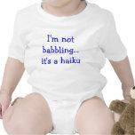 Haiku del bebé trajes de bebé