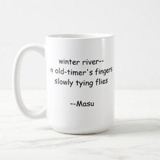 Haiku Fishing Mug