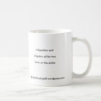 Haiku, Indignation andLitigation all for twoCen... Coffee Mug