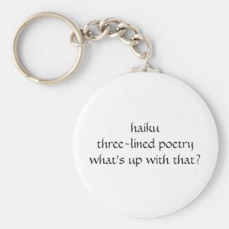 haiku llavero redondo tipo pin
