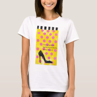 Haiku on A Shoe In, too T-Shirt