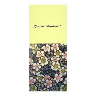 HAIKU pink white brown black yellow Card
