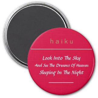 Haiku Refrigerator Magnet (Red)