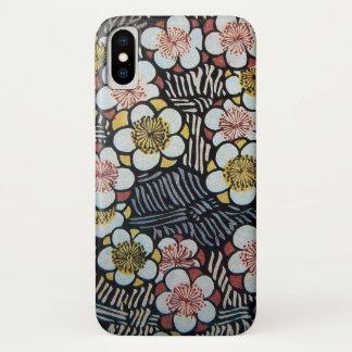 HAIKU / WHITE SPRING FLOWERS iPhone X CASE