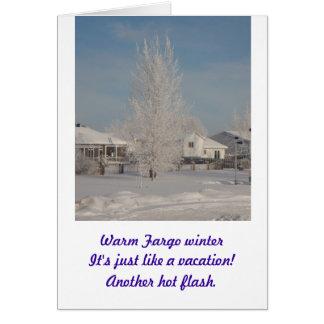 Haikus For You...Fargo Winter3 Card